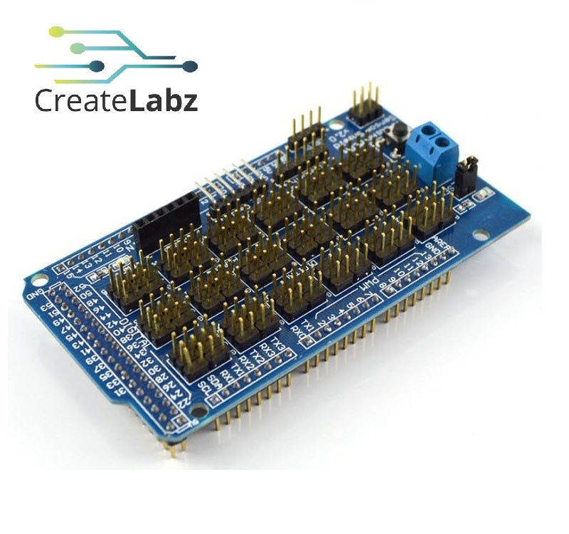 Sensor Shield V2 for Arduino Mega