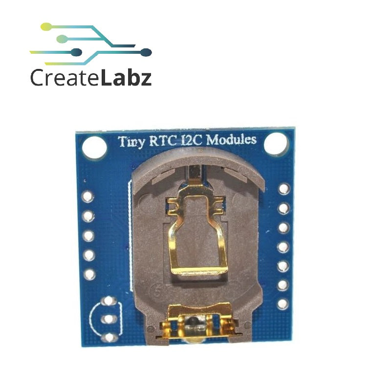 Tiny RTC (Real Time Clock) DS1307 + AT24C32 module, I2C