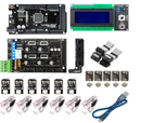 3D PRINTER AND CNC CONTROLLER KIT, Stepper motors not included