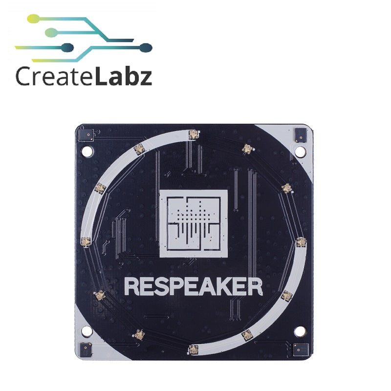 ReSpeaker 4-Mic Array (For Raspberrry Pi)