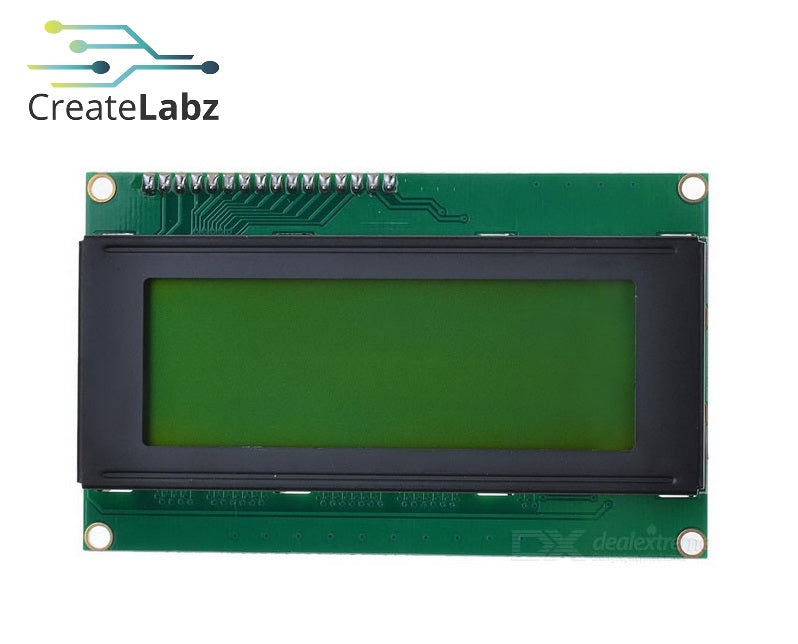 LCD module yellow-green/blue screen IIC/I2C 20x4 LCD