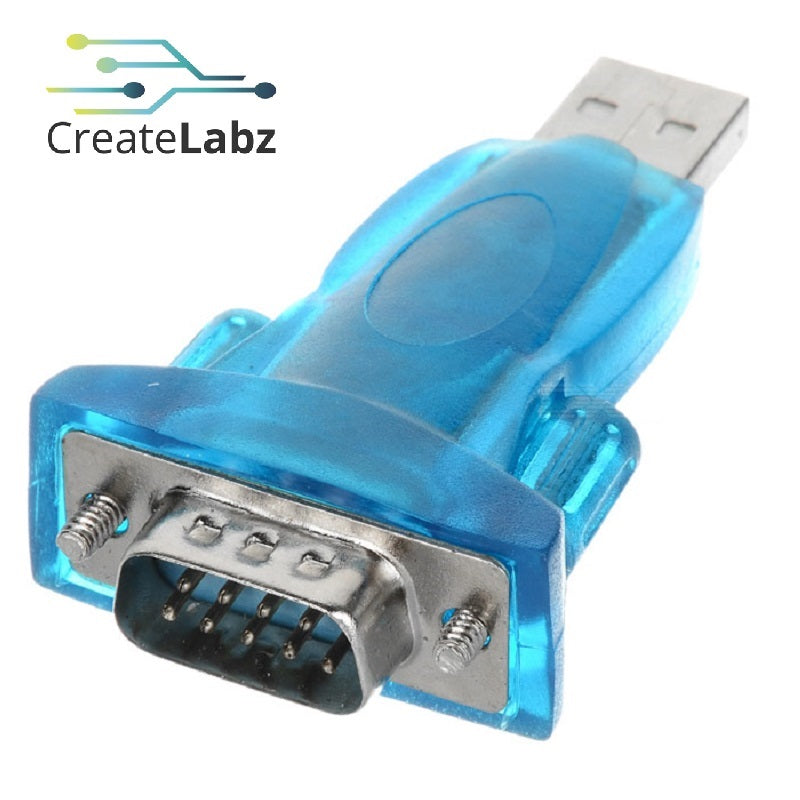 USB to DB9 Adapter Back-to-back RS232 Serial Com Port