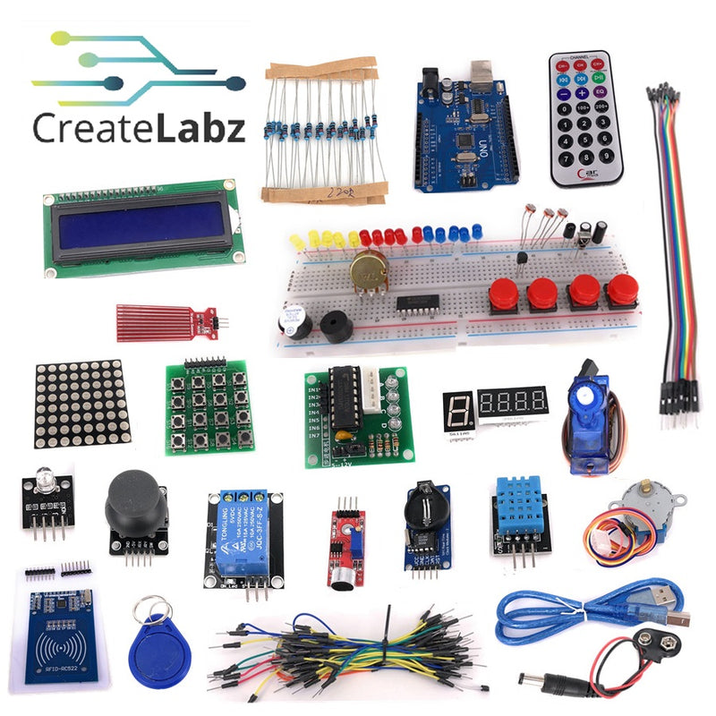 Arduino Upgraded Starter Kit