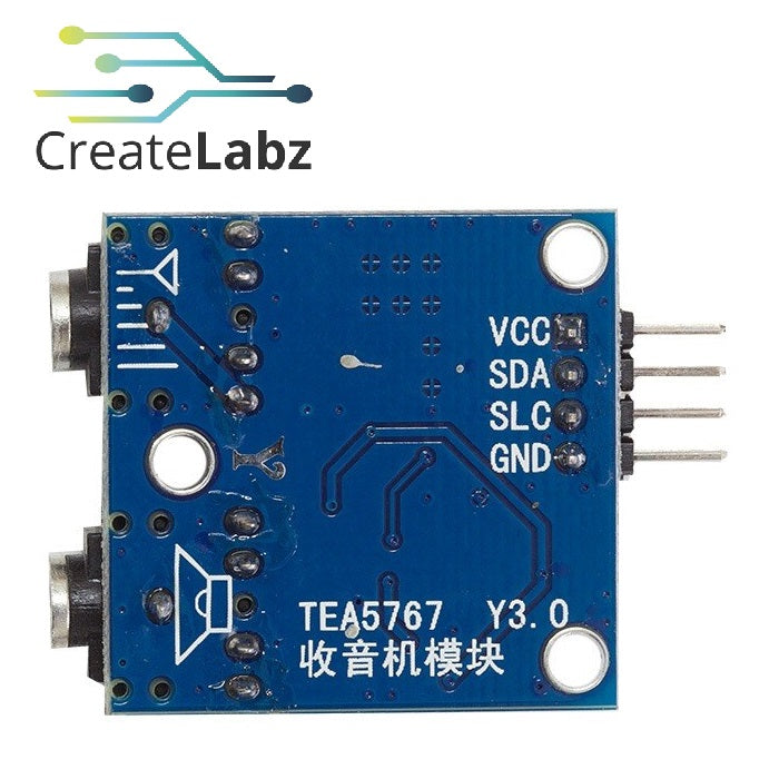 TEA5767 FM Stereo Radio Module 76-108 MHz, with Antenna