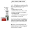 Clay Bar Instructions and How to Use Luster Lube and Fore Clay
