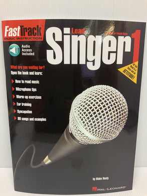Fast Track Music instruction - Lead Singer Book 1