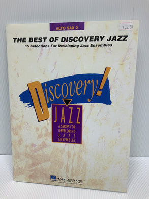 The Best of Discovery Jazz - for developing jazz ensembles - Alto Sax