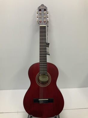 Valencia - Nylon String Guitar - 1/2 Size Red