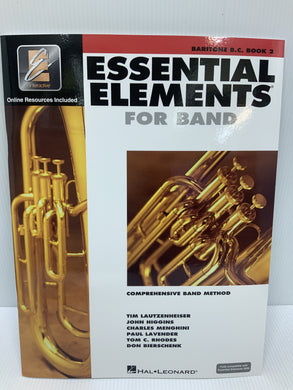 Essential Elements - For Baritone B.C. - Book 2