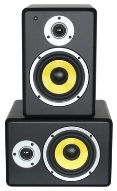 Power Dynamics Active Studio Monitors Pair - 5 Inch Drivers