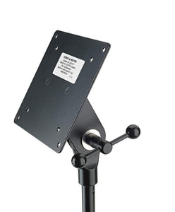 K&M Mic Stand Accessorie - LCD/LED Screen Mount