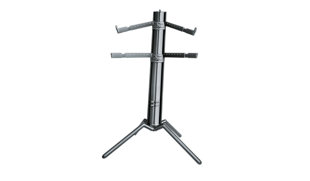K&M Spider Pro Keyboard Stand - Anodized Black