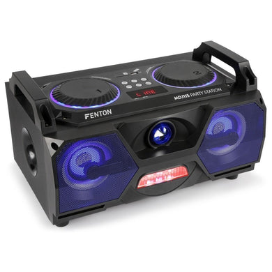 Fenton MDJ115 Partystation Bluetooth Active Speaker - 120 Watts