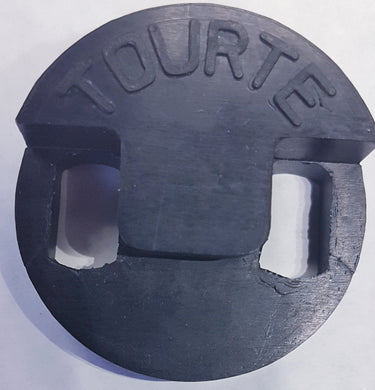 Tourte Double Bass Mute - Rubber