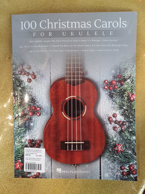 100 Christmas Carols for Ukulele songbook