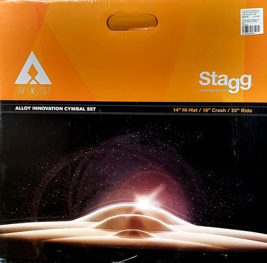 Stagg Cymbal Set Includes 14