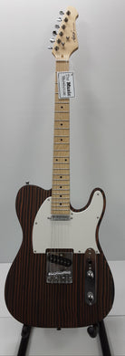 Aiersi - Zebrawood Body Telecaster Electric Guitar - TL2-ZB