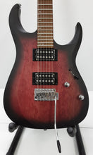 Load image into Gallery viewer, Cort X100 Open Pore Black Cherry Burst Guitar