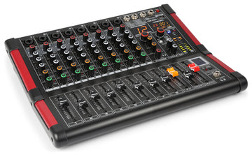 8 Channel Music Mixer - USB/Bluetooth Multi-FX Processor with 16 presets Product Code: 172.606