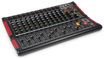 12 Channel Music Mixer - USB and Bluetooth Multi-FX Processor with 16 presets Product Code: 172.608