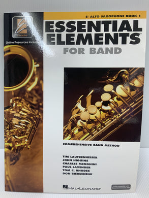 Essential Elements - For Alto Saxophone - Book 1