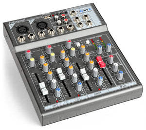 4 Channel Music Mixer Built-in USB player Product Code: 172.575