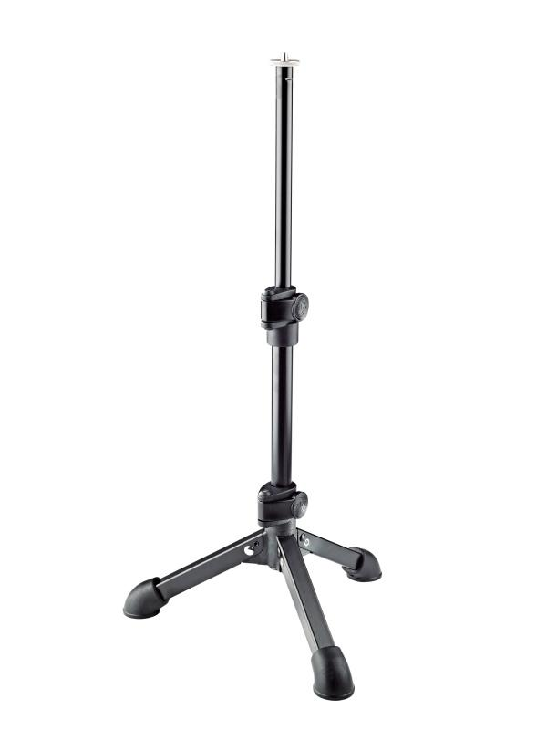 K&M Table Mic Stand - Telescopic With A 1/4