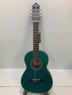 Valencia - Nylon String Guitar - 1/2 Size Blue