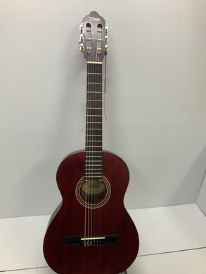 Valencia - Nylon String Guitar - 3/4 Red