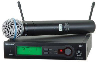 Shure SLX-BETA58 Handheld Wireless System with Beta 58A Microphone