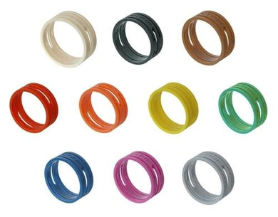 Neutrik XXR-8 Coloured Ring - Grey