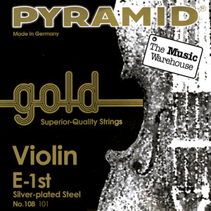 Pyramid Gold Violin E String - 3/4 Size