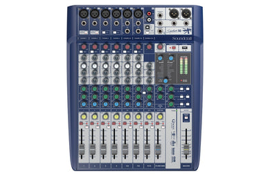 4/6-MONO 3-STEREO FX USB ANALOG CONSOLE SIGNATURE10 Soundcraft