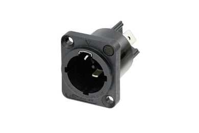 Neutrik -  NAC3MPX-TOP Appliance Inlet Chassis Mount.