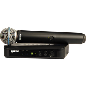 Shure BLX24 BETA58 Vocal Wireless System With Beta 58A Mic