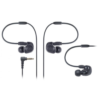 Audio Technica ATH-IM50 Dual symphonic-driver In-ear Monitor headphones
