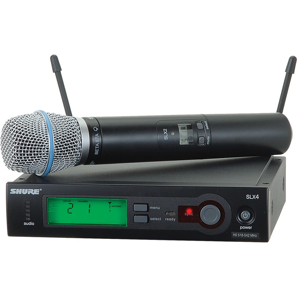 Shure SLX-BETA87A Handheld Wireless System with Beta 87A Microphone