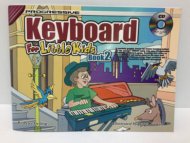 Progressive - Keyboard for little kids - Book 2