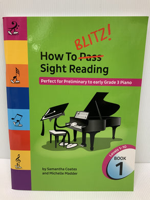 How to BLITZ Sight Reading - Preliminary - Grade 3