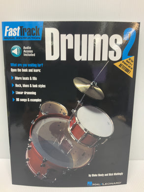 Fast Track Music instruction - Drums Book 2