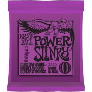 ERNIE BALL 2220 POWER SLINKY Electric Guitar Strings
