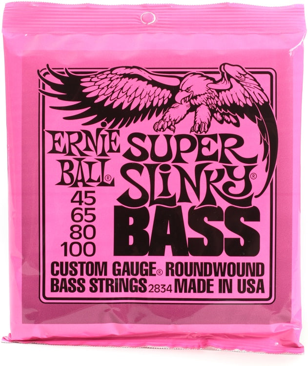 ERNIE BALL 2834 SUPER SLINKY Bass Guitar Strings