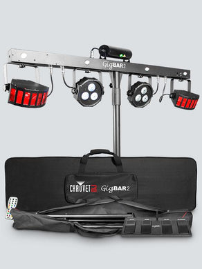 Chauvet DJ GigBAR 2 4-in-1 Pack-n-Go Lighting System