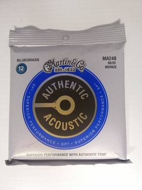 Martin Authentic Acoustic Strings -  Bluegrass 12