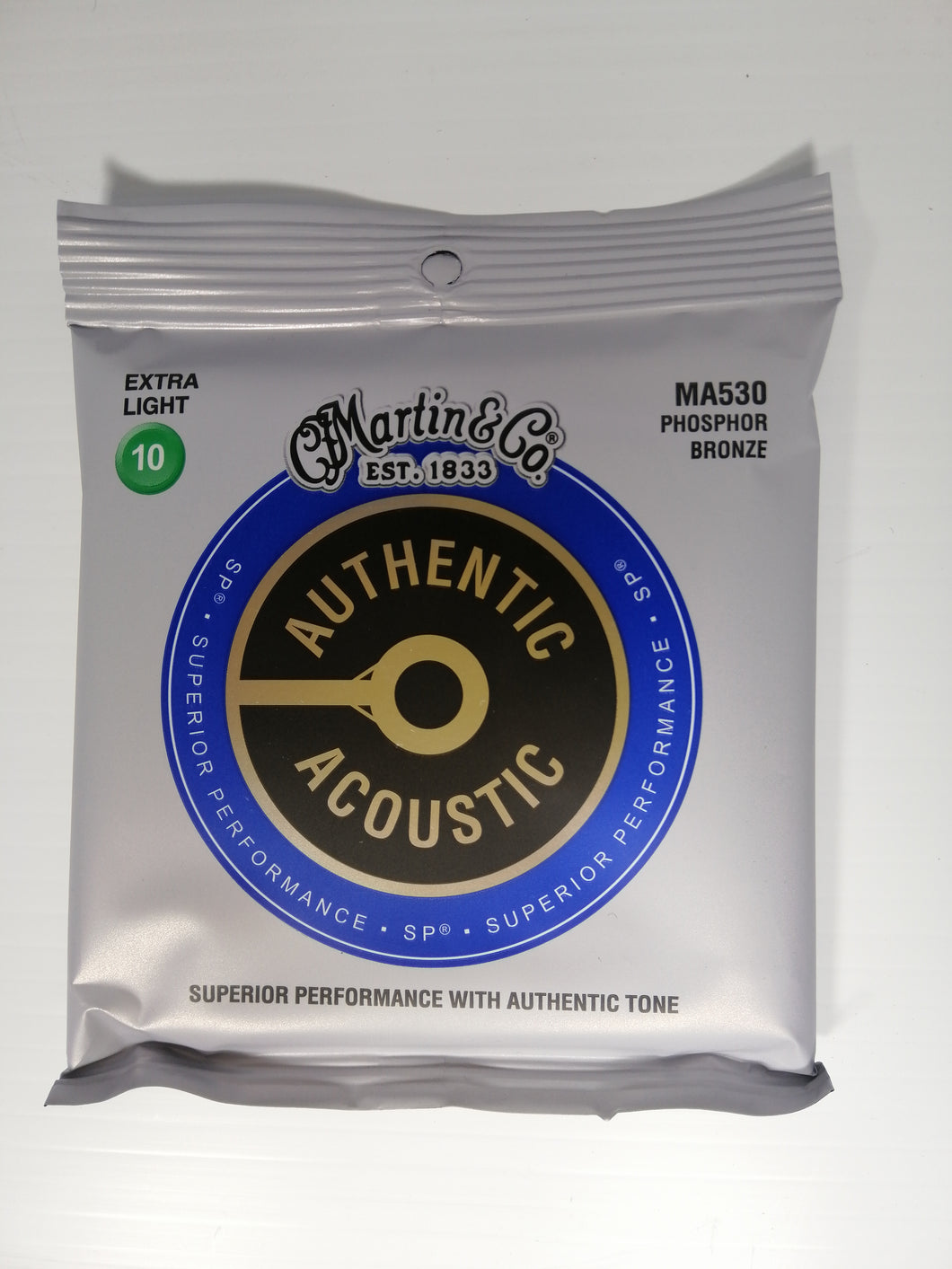 Martin Authentic Acoustic Strings -  Extra Light 10