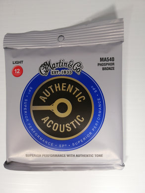 Martin Authentic Acoustic Strings -  Light 12