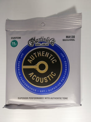 Martin Authentic Acoustic Strings -  Silk & Steel