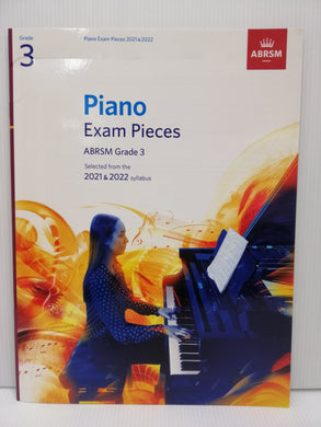 ABRSM - Piano Exam Pieces 2021-2022 - Grade 3