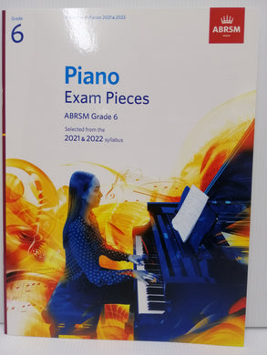 ABRSM - Piano Exam Pieces 2021-2022 - Grade 6