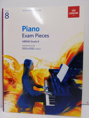 ABRSM - Piano Exam Pieces 2021-2022 - Grade 8